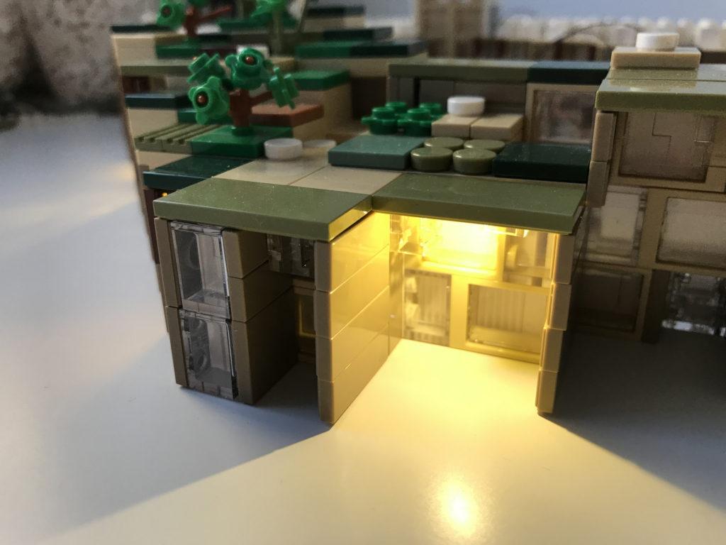 LEGO Lot of 4 White 1x2x5 Wall Basic Buildings Bricks